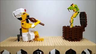 Snake charmer, a LEGO automaton