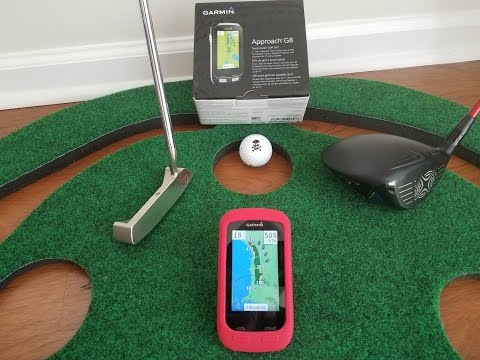 Overview of the Garmin Approach G8 Golf GPS Tee to Green