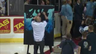 """Artist Joe Everson """"Paints"""" the National Anthem MUST SEE!"""