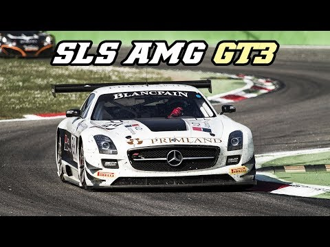 Mercedes-Benz SLS AMG GT3 Tribute - Pure sounds, sparks, details