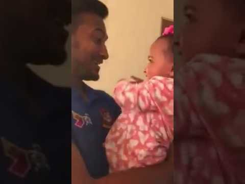 Impressive moments for Shakib with daughter Alayna