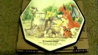Pokemon Center New York hot plates and grand opening mug.