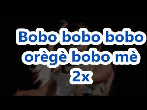 lyrics to Bobo by Ada