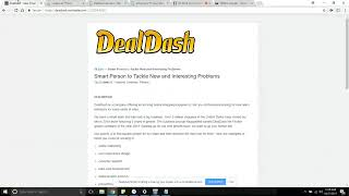 Work from Home For DealDash as a CSR Worldwide