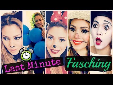 5 einfache Karneval / Fasching Looks - Last Minute | funnypilgrim