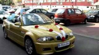 preview picture of video 'Orszak weselny BMW Polkowice.flv'