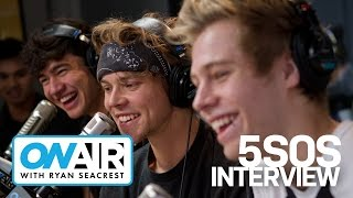 5 Seconds Of Summer, 5SOS's First In Studio Interview! | On Air with Ryan Seacrest