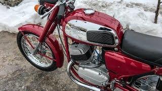 Jawa 350 в оригинале: вишневка Ява 634-01