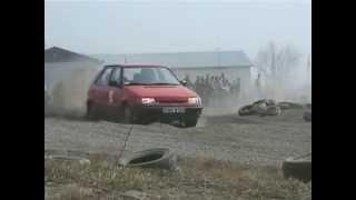 preview picture of video 'Tor Szczurowa - pojeżdżawka'