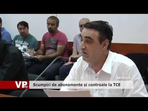 Scumpiri de abonamente și controale la TCE