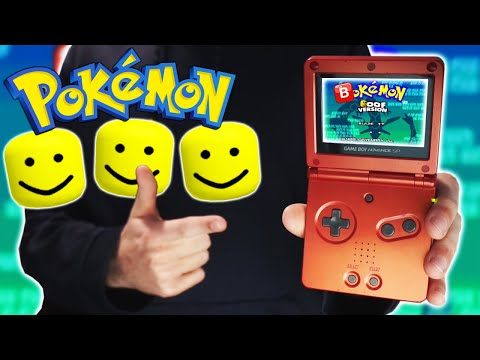 PLAYING THE WORST POKEMON GAME EVER CREATED (Pokemon Oof)