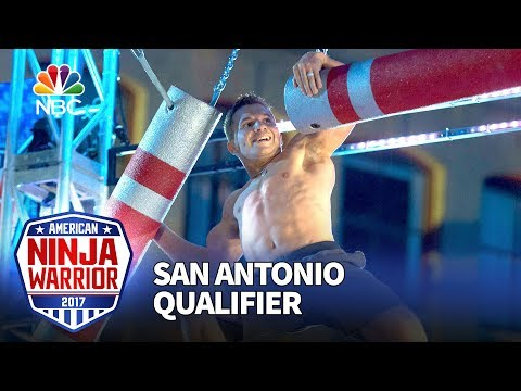 Jonathan Horton at the San Antonio Qualifiers - American Ninja Warrior 2017