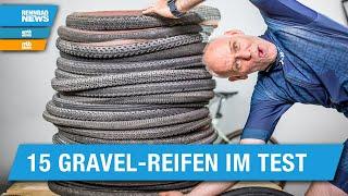 Großer Gravel Reifen Test: 15 Reifen für Allroad und Gravel