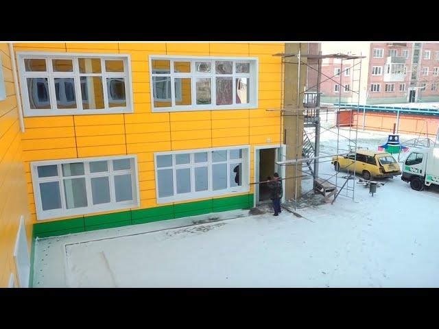 В Усолье-Сибирском не могут достроить детский сад