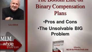Bottom Line on MLM Binary Compensation Plans