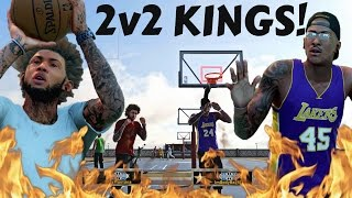 GREEN LIGHT SPECIAL JUMPER AT FULL FORCE! | STAXMONTANA AND JUICEMAN OWN THE 2V2! - NBA 2k16 MyPark