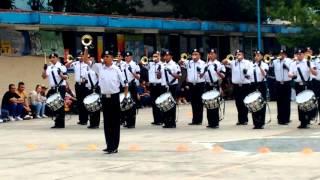 Banda de guerra unidad idp reglamentarios Copa oro