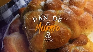 Pan de muerto: a sweet roll for the Day of the Dead
