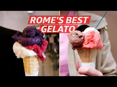 How Rome's Best Gelato Is Made —Dining on a Dime