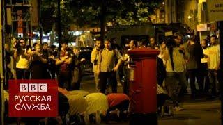 Фургон врезался в толпу у мечети на севере Лондона