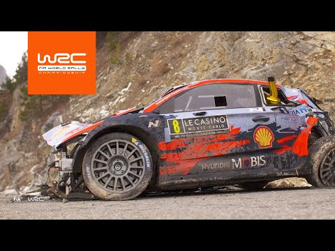 WRCラリーモンテカルロ2020 SS1-4ハイライト動画