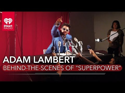 "Exclusive Behind-The-Scenes Footage From Adam Lambert's ""Superpower"" Music Video"