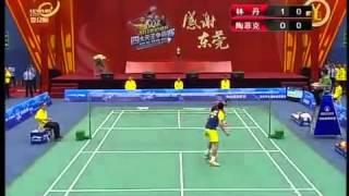 [Full] Badminton Lin Dan vs Taufik Hidayat - 4 Kings Exhibition 2011