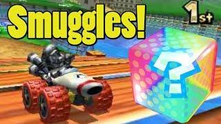 Mario Kart 7 Item Smuggling Montage 2