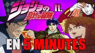 Jojo's Bizarre Adventure (Arc 1) EN 5 MINUTES (ft. Bob Lennon) - RE: TAKE