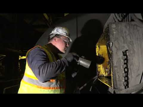 Open Gear Lubrication Inspection with Mobil