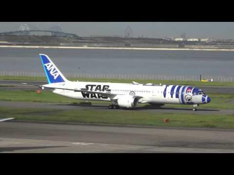 ANA 的R2-D2 彩繪機已經抵達日本!即將開始服務啦~