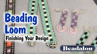 Beading Loom - Finishing Your Design