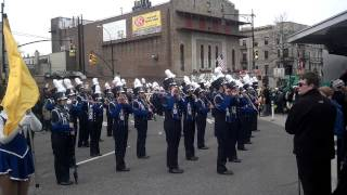 FHHS Marching Band at St. Patrick's Day parade '13