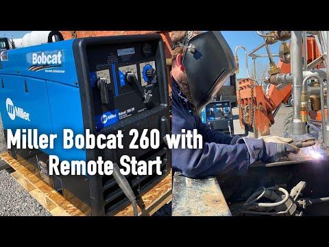 Miller Bobcat™ 260 дизельный с дистанционным управлением Старт/Стоп