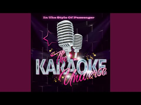 All the Little Lights (Karaoke Version) (In the Style of Passenger)