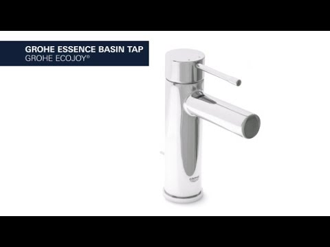 Grohe Essence New wastafelkraan S-size zonder waste chroom