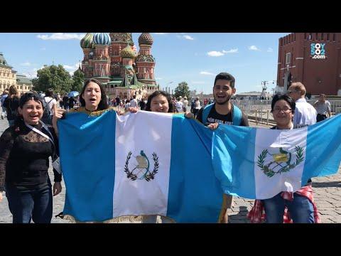 Guatemaltecos estudiando en Rusia