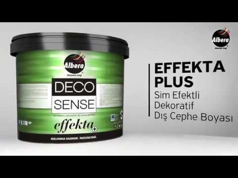 Albera Decosense Effekta Plus - Sim Efektli Dekoratif Dış Cephe Boyası
