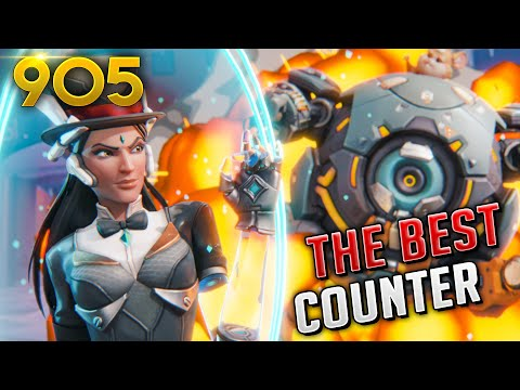 THE NEW BEST SYMM COUNTER IS...| Overwatch Daily Moments Ep.905 (Funny and Random Moments)
