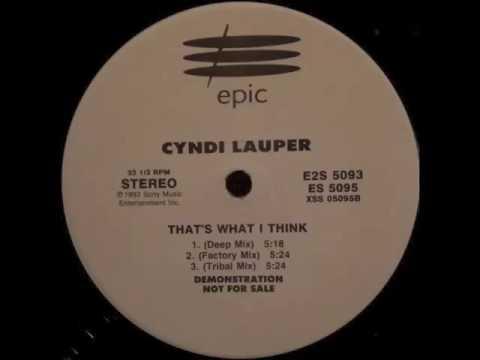 Cyndi Lauper - That's What I Think (Factory Mix)