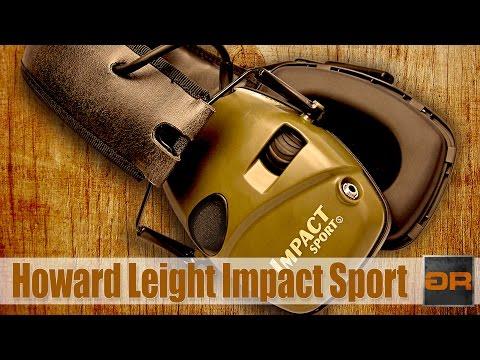 Видеообзор активных наушников для стрельбы Howard Leight Impact™ Sport