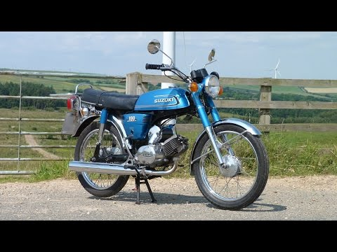 The fun of small bikes :D (Suzuki a100 ride)