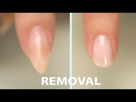 Video Acrylic Nail Removal