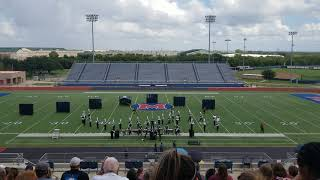 James Earl Rudder Ranger Band - Midway Invitational Marching Preview 2018