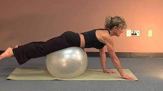 Lower Back Exercises with the Exercise Ball
