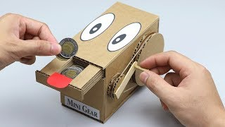 Wow! Amazing DIY Personal Bank Saving Coin from Cardboard