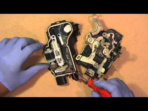 VW Door Lock Control Module Fix Repair, Simple Easy Repair