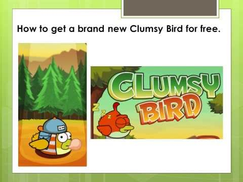 Clumsy Bird  -  How to get a new Bird for FREE!!!  Crack/Cheat