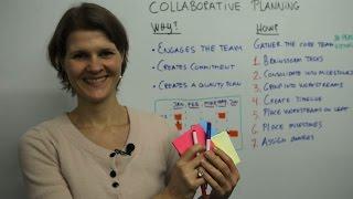 Collaborative Planning - Leadership Training