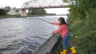 Рыбалка с поплавком на канале им москвы